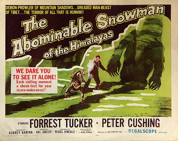 Abominable Snowman of the Himalayas