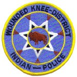 Wounded Knee Tribal Police Patch