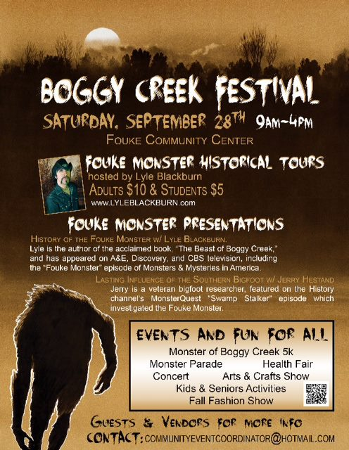 Boggy Creek Fest