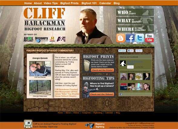 Cliff Barackman home Page
