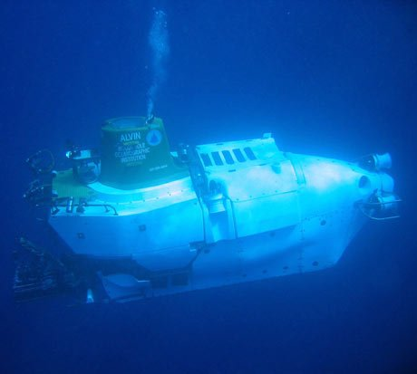 WHOI-operated submersible Alvin