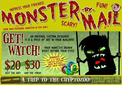 Monster by Mail