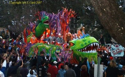 Jeb's Cryptids of Mardi Gras