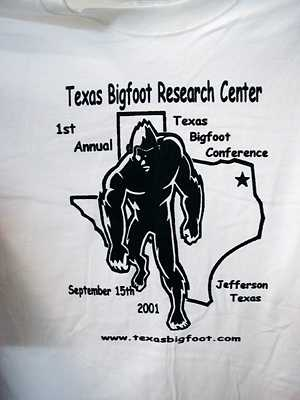 2001 Texas Bigfoot Conference