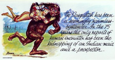Sasquatch Kidnapping
