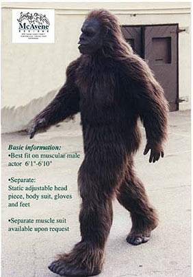Bigfoot Suit