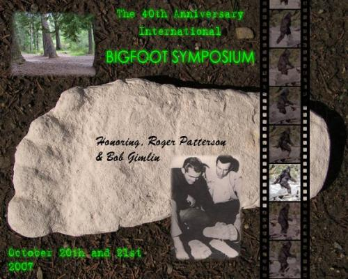 40th Anniversary Bigfoot Symposium
