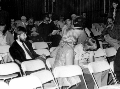 Loren at 1981 Champ Conference