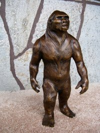Bigfoot in Bronze