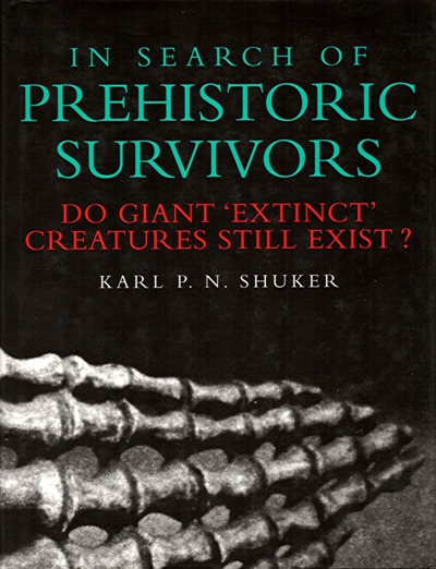 In Search Of Prehistoric Survivors, cover