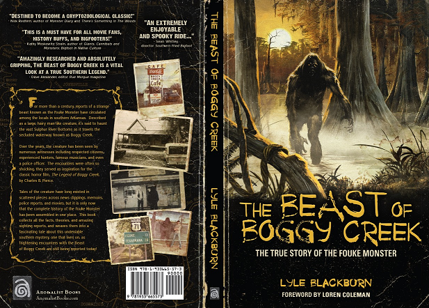 March 10 Image Boggy Creek Book Cover