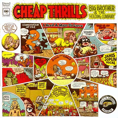 R. Crumb Big Brother & The Holding Company Cheap Thrills