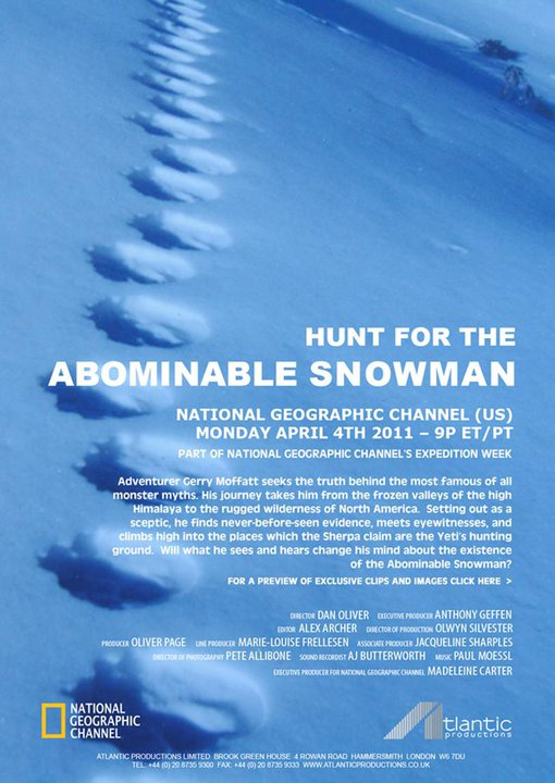 Hunt For The Abominable Snowman