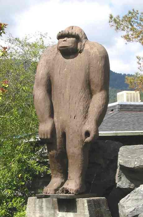 Jim McClarin Willow Creek Bigfoot Statue