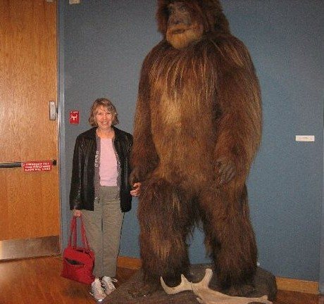 Julie and Bigfoot