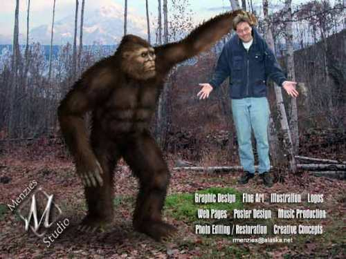 RobRoy Menzies Bigfoot